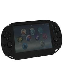 ZedLabz SC-1 soft silicone skin protector gel cover bumper case for Sony PS Vita 2000 Slim - black PS Vita