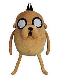 Adventure Time Jake Plush Tan BackpackSports Camping and Hiking