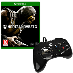 Mortal Kombat X: Special Edition including Goro DLC and Official Wired Fight PadAccessories