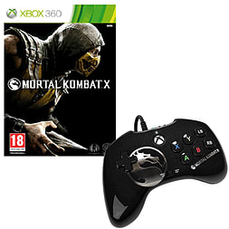 Mortal Kombat X and Official Wired Fight PadAccessories