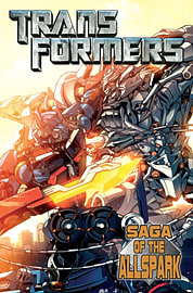 Transformers Movie Prequel: Saga Of The Allspark (Paperback)Books