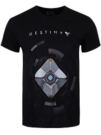 Destiny Ghost Black Men's T-shirt: Large (Mens 40- 42)Clothing and Merchandise