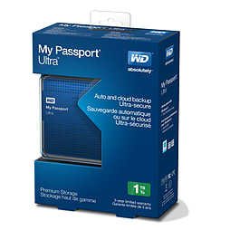 My Passport Ultra 1TB - BlueAccessories