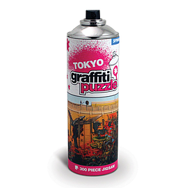 Tokyo Graffiti Puzzle - 300 Piece JigsawPuzzles and Board Games