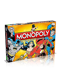 Monopoly - DC ComicsPuzzles and Board Games