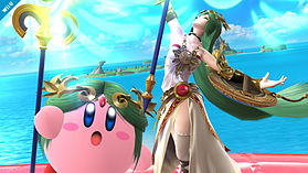 Palutena - amiibo - Super Smash Bros Collection screen shot 2