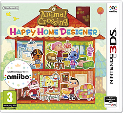Animal Crossing: Happy Home Designer with Special amiibo Card2DS/3DSCover Art