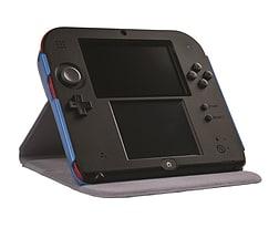 Nintedo Licensed Flip Cover 2DS Case - Blue (2DS) 3DS