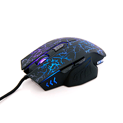 Frostycow 2400dpi High Precision USB Wired Illuminating Gaming Mouse PC