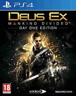 Deus Ex: Mankind Divided Day One EditionPlayStation 4Cover Art