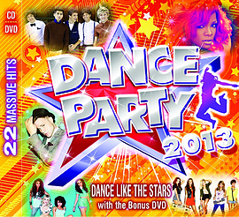 Dance Party 2013 CD + DVDCD