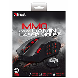 Trust GXT 166 MMO Gaming Laser MouseAccessories