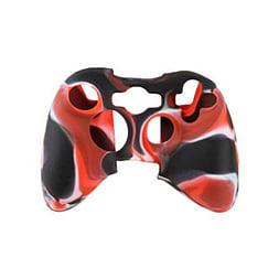 ZedLabz silicone case for Xbox 360 controller - rubber grip skin protective bumper cover - camo red XBOX360