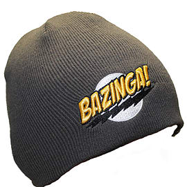 Big Bang Theory: Beanie - Bazinga GreyClothing and Merchandise
