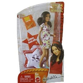 High School Musical HSM Club Gabriella DollFigurines