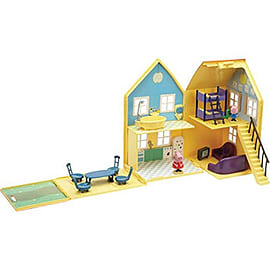 Peppa Pig Deluxe PlayhouseFigurines