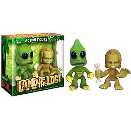Land of The Lost Sleestak and Chaka Funko ForceFigurines
