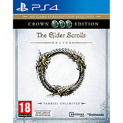 The Elder Scrolls Online: Tamriel Unlimited Crown EditionPlayStation 4Cover Art