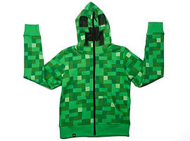 Minecraft Creeper - Premium Zip-Up Hoodie (Youth)Clothing and Merchandise