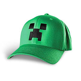 Minecraft Creeper Flexfit Hat (L/XL)Clothing and Merchandise