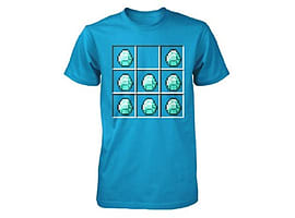 Minecraft Diamond Crafting Boys T-Shirt (7-8 years)Clothing and Merchandise