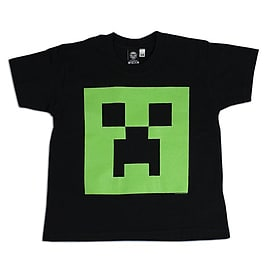 Boys Minecraft T-shirt | Glow In The Dark Mine Craft Tshirt | Age 7 to 8Clothing and Merchandise