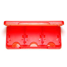 ZedLabz Value 6 in 1 game case for Nintendo 3DS, 2DS & DS cartridge storage holder case box - red 3DS
