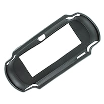 ZedLabz value TPU Rubber Gel Hard Skin Bumper Protective Case Cover For PS Vita 1000 - Black PS Vita