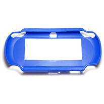 ZedLabz value TPU Rubber Gel Hard Skin Bumper Protective Case Cover For PS Vita 1000 - Blue PS Vita