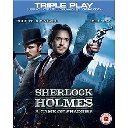 Sherlock Holmes: A Game of Shadows - Triple Play (Blu-ray + DVD + UV Copy)Blu-ray