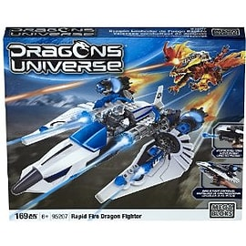 Mega Bloks Dragons Rapid Fire Dragon Fighter Buildable PlaysetBlocks and Bricks