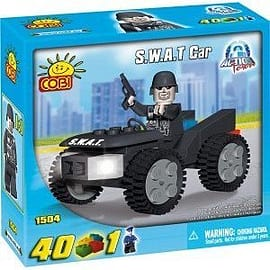 Action Town 40 Pcs S.W.A.T. CarFigurines