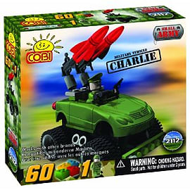 Small Army 60 Pcs Vehicle CharlieFigurines