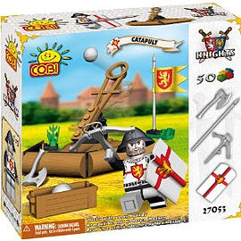 Knights 50 Pcs Union CatapultFigurines