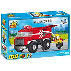 Action Town 100 Pcs Support VehicleFigurines