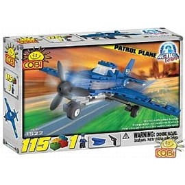 Action Town 115 Pcs Patrol PlaneFigurines