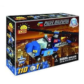 Action Town 115 Pcs Police HelicopterFigurines