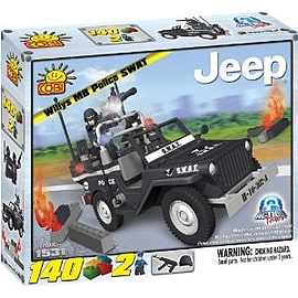 Action Town 140 SWAT JeepFigurines