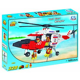 Action Town 320 Pcs Coast Guard HelicopterFigurines
