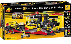 Cobi F1 Renault 450 Pcs F1 Car and PitstopFigurines
