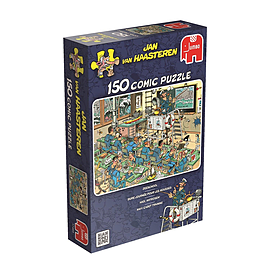Jan van Haasteren Navy Cadet Training 150pcsPuzzles and Board Games