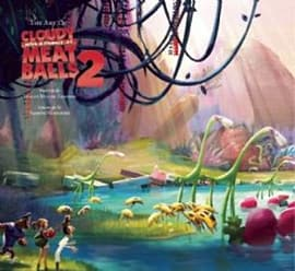 Art of Cloudy With a Chance of Meatballs 2 (Hardcover)Books