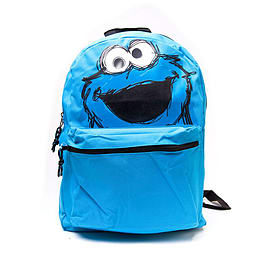Sesame Street Cookie Monster Backpack, BlueSports Camping and Hiking