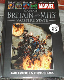 Captain Britain and MI13: Vampire State (Marvel Graphic Novel Collection issue 53)Books