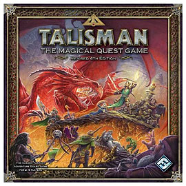 Talisman Revised Fourth Edition Board GamePuzzles and Board Games
