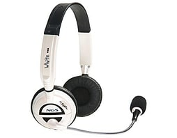 Ngs Msx6 Pro Stereo Headset With Microphone, Jack 3.5mm, White PC