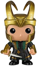 Marvel Loki Pop Vinyl Bobble Head FigureFigurines