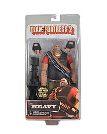 Team Fortress 2- Red Heavy Action FigureFigurines