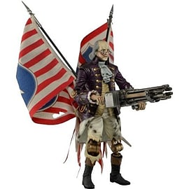 Bioshock Infinite Benjamin Franklin Motorized Patriot FigureFigurines