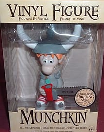 Munchkin Vinyl Figure Exclusive Hireling Spyke with CardFigurines